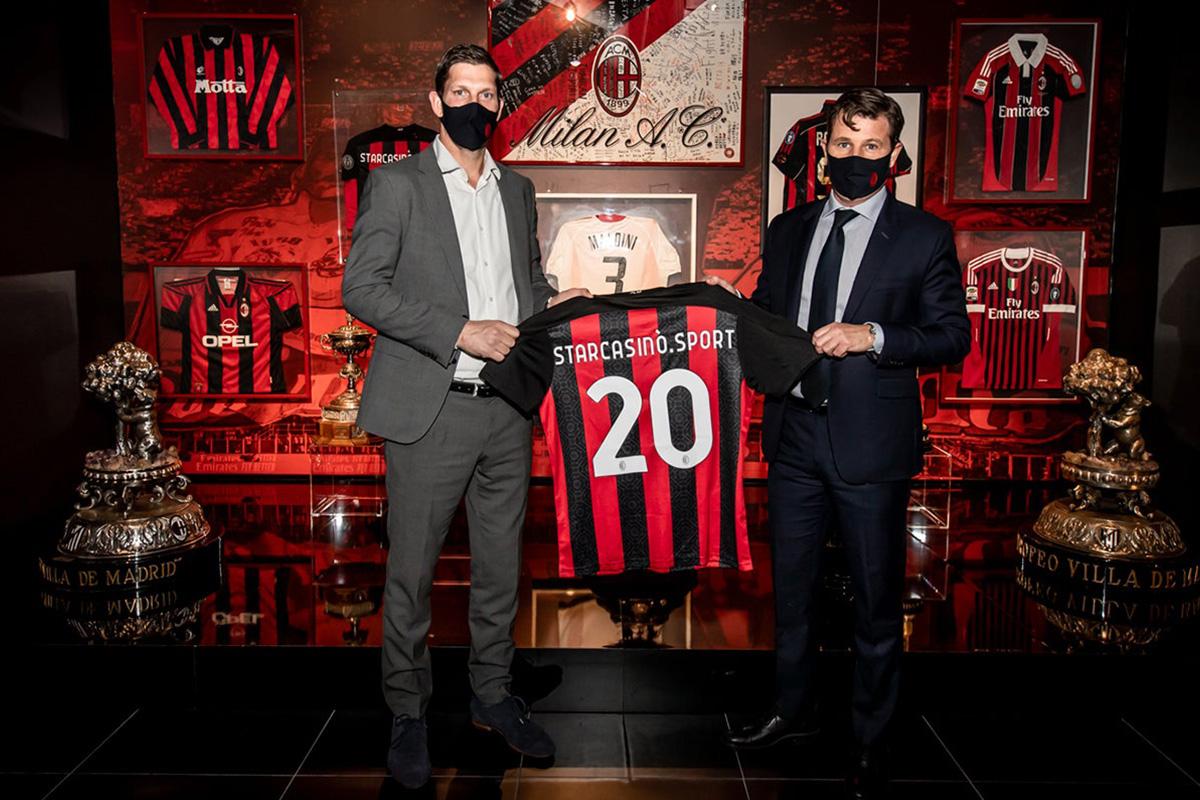 AC Milan Extends its Partnership with StarCasinò.sport