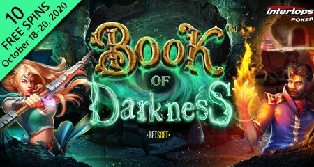 Intertops Poker introduces extra spin offer for Betsoft's new Book of Darkness slot