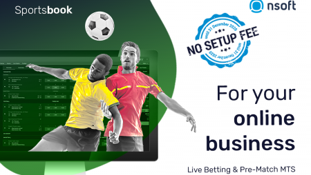 NSoft Sportsbook  for online operators' business without setup fee