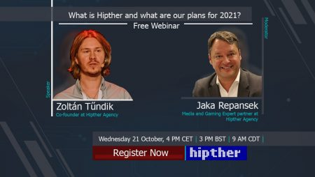Invitation to our next free webinar: What is Hipther and what are our plans for 2021?