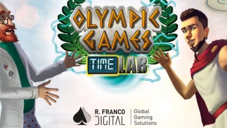 R. Franco Digital releases new TIME LAB II-Olympic Games online slot game