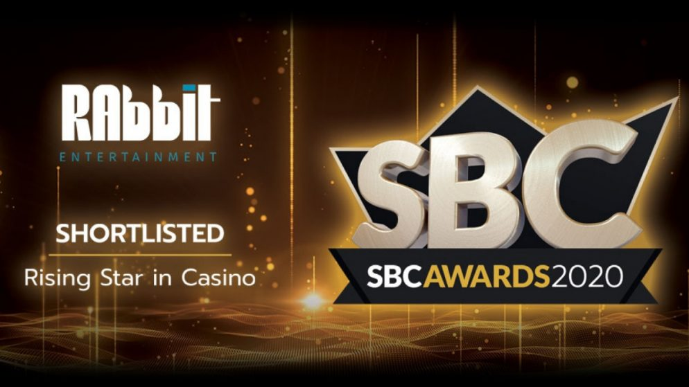 Rabbit Entertainment a finalist in the SBC Awards as a rising star
