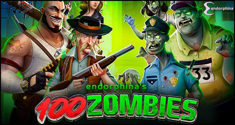Endorphina Limited unleashes 100 Zombies video slot