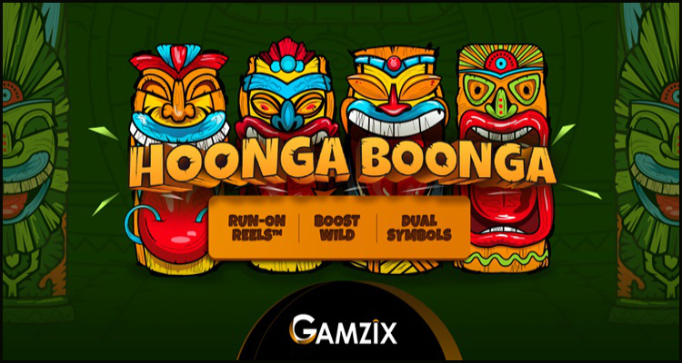 Take a mystical trip with Gamzix Technology's new Hoonga Boonga video slot