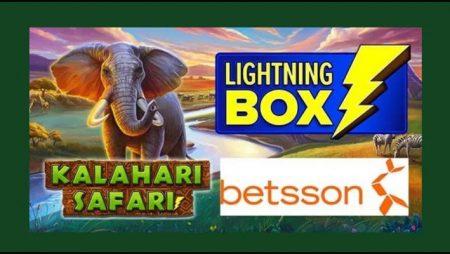 Lightning Box Games goes wild with new Kalahari Safari video slot