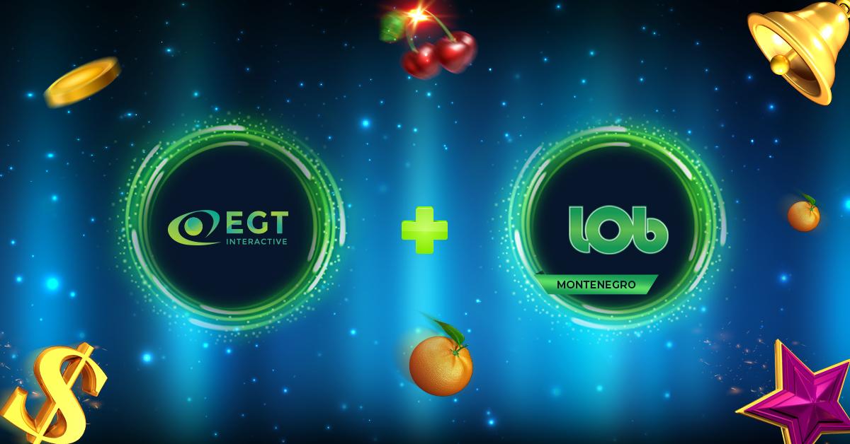 EGT Interactive announces new partnership with Lobbet Montenegro
