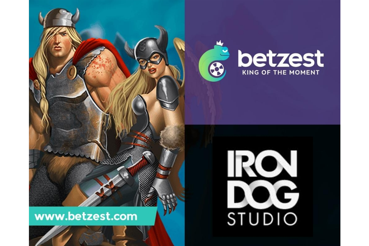 Online Sportsbook and Casino BETZEST™ goes live with Iron Dog Studio™