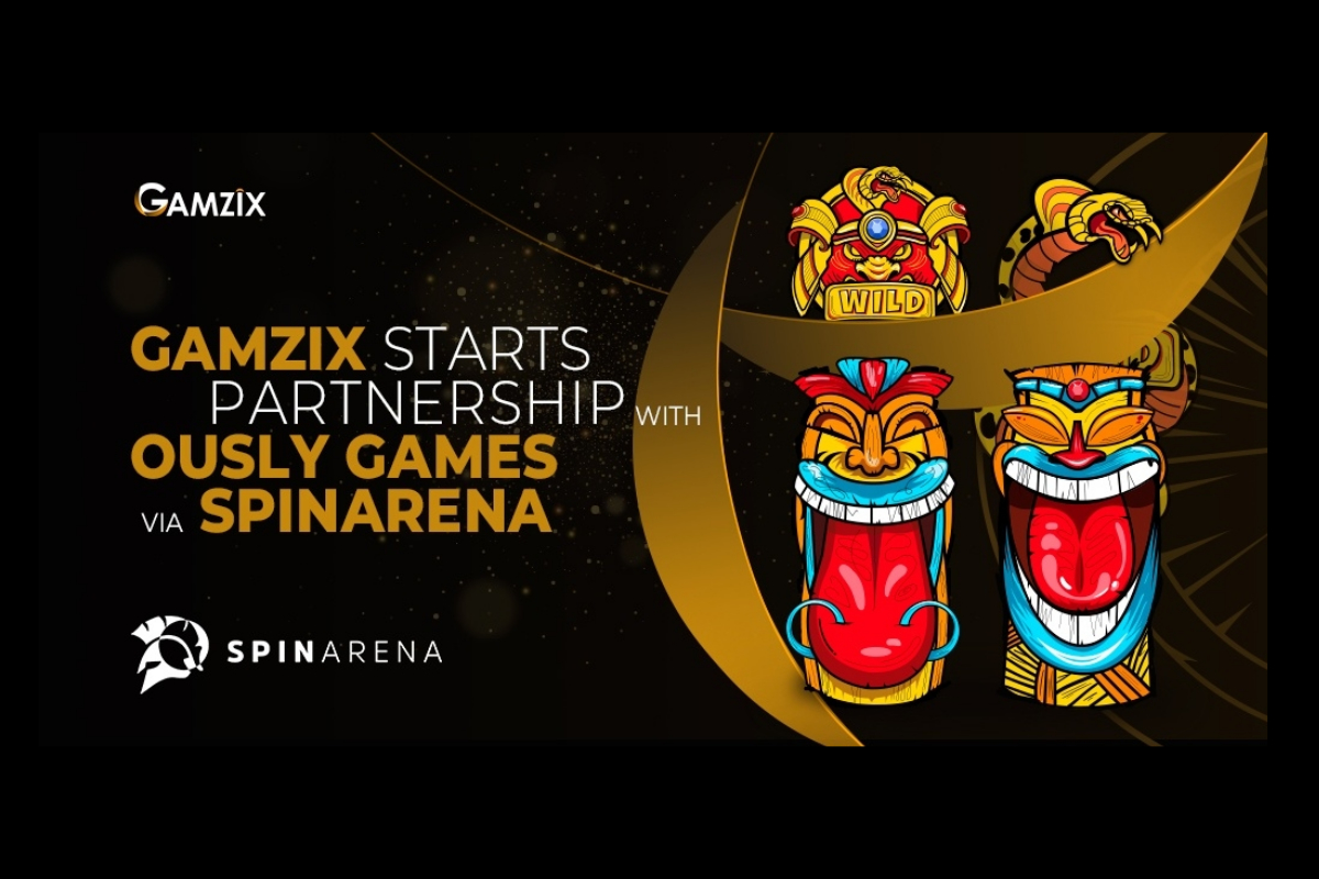 Gamzix starts a grandiose partnership with Ously Games!