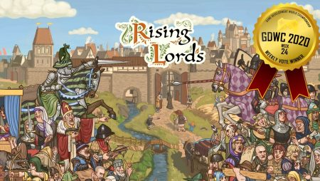 Rising Lords Takes First Place in the Game Development World Championship Strategy Games Weekly Vote!