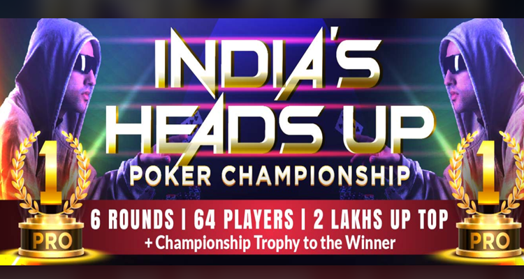First ever Heads Up Poker Championship in India Begins November 24 via 9stacks