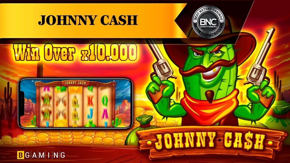 """BGaming Announces Release of New """"Johnny Cash"""" Slot"""