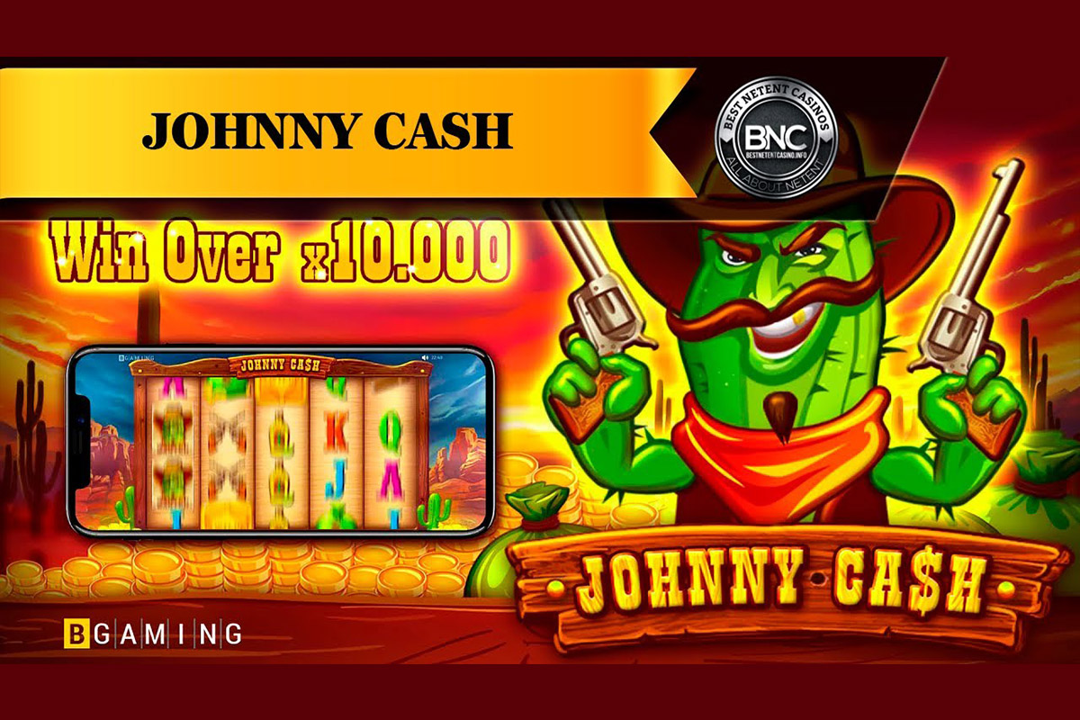 "BGaming Announces Release of New ""Johnny Cash"" Slot"