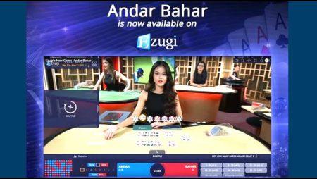 Ezugi launches latest OTT live-dealer variant in Andar Bahar