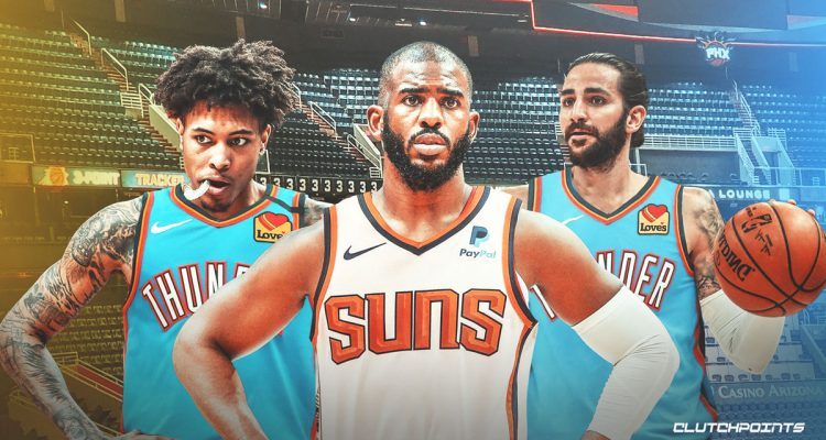 Phoenix Suns Acquire Chris Paul in Trade with the Oklahoma City Thunder