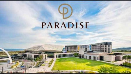 Third-quarter net deficit for South Korea's Paradise Company Limited