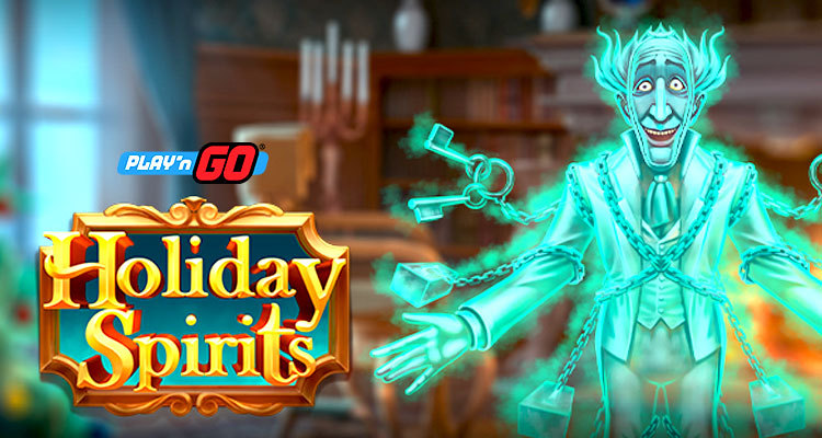 Celebrate the Christmas holiday early with the new Holiday Spirits slot by Play'n GO