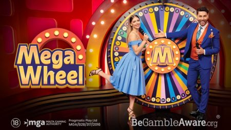 Pragmatic Play reveals its take on live casino game shows with Mega Wheel
