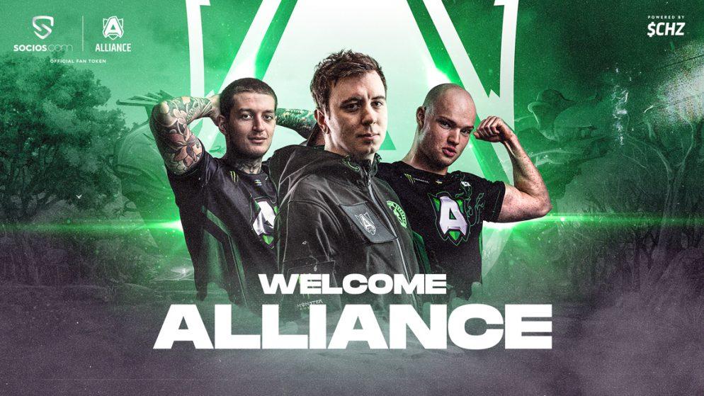 Team Alliance to launch FAN TOKEN on Socios.com