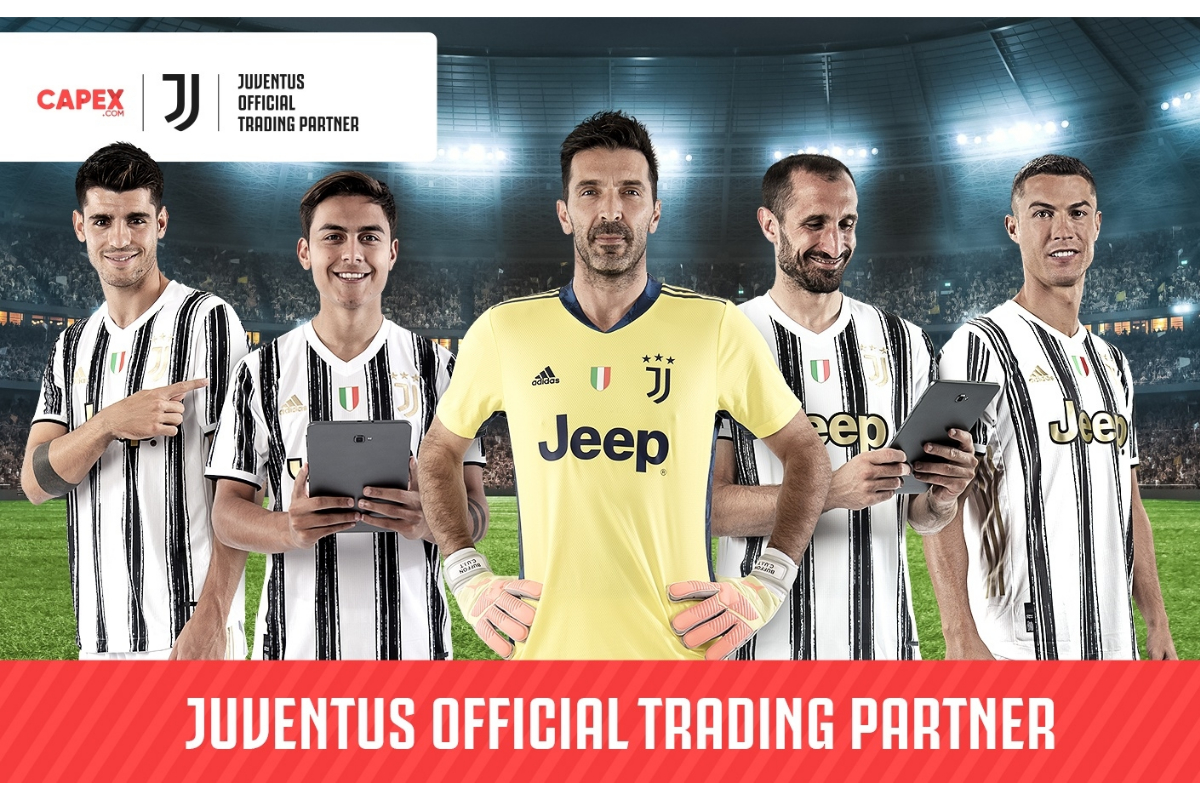 Capex.com Becomes the Official Trading Partner of Italian Giant Juventus