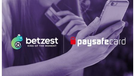 Online Casino and Sportsbook BETZEST™ goes live with payment provider Paysafecard