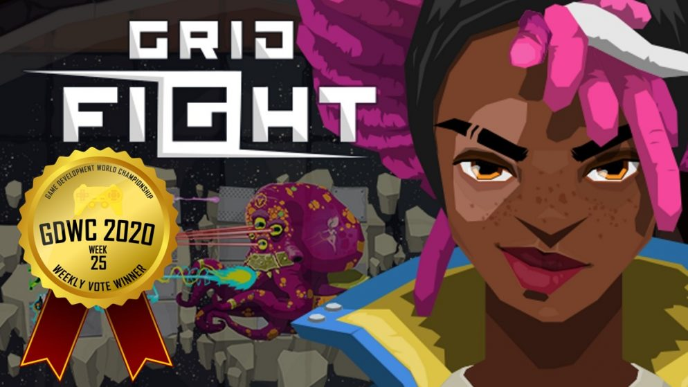 Grid Fight – Mask of the Goddess Stands on Top in the Game Development World Championship Couch Gaming Weekly Vote!