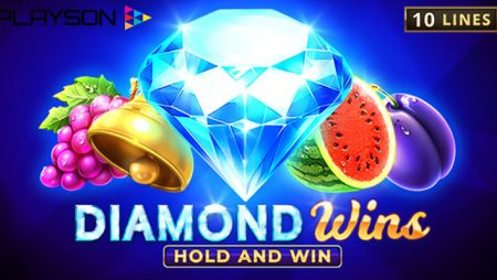 Playson launches new Diamond Wins: Hold and Win slot: kicks off Nov CashDays tourney with €40,000 prize pool