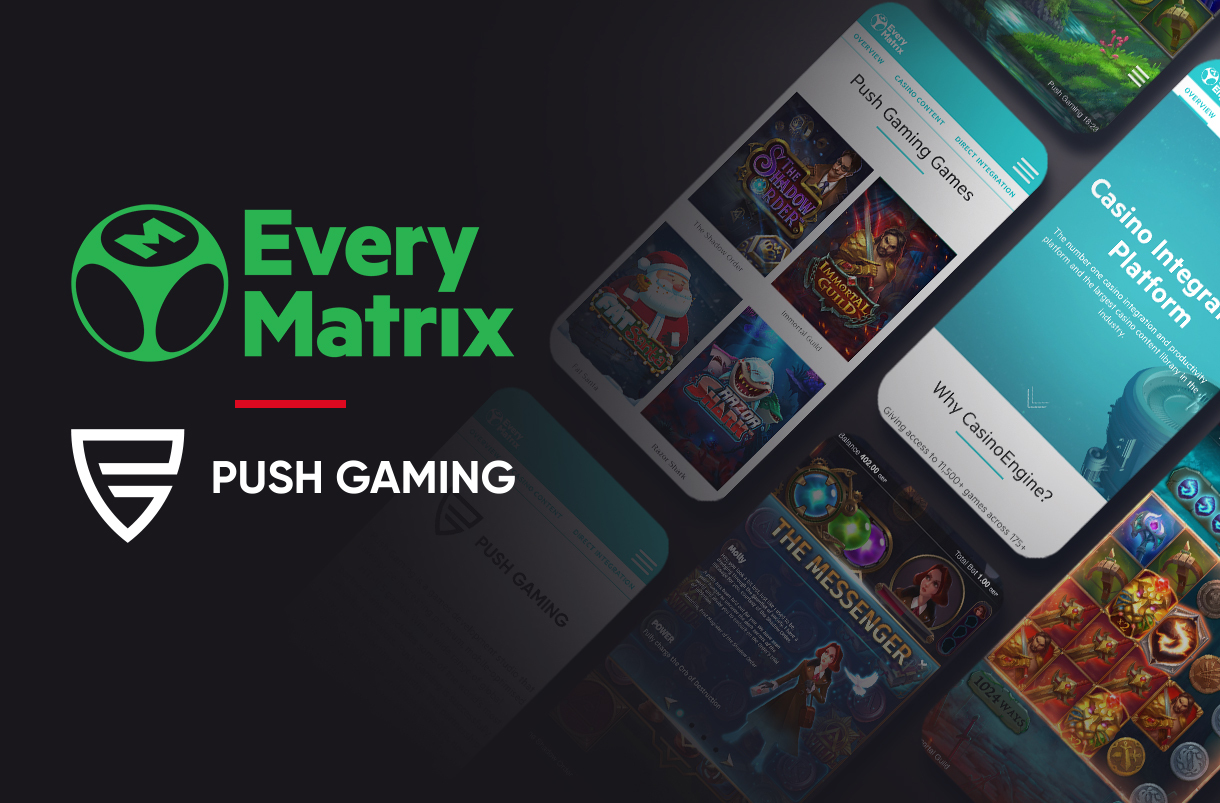 Push Gaming strikes content deal with EveryMatrix's CasinoEngine
