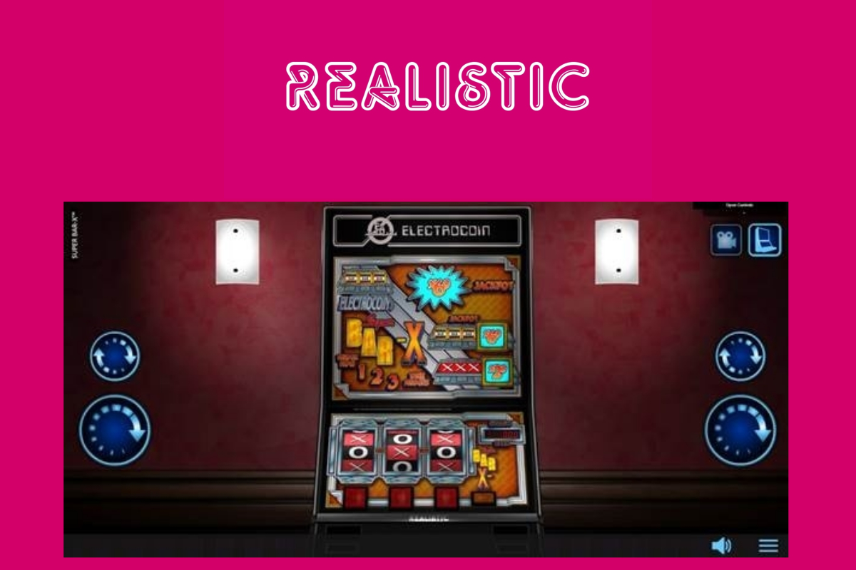 Realistic Games Brings Electrocoin Classic Super Bar-X™ Online