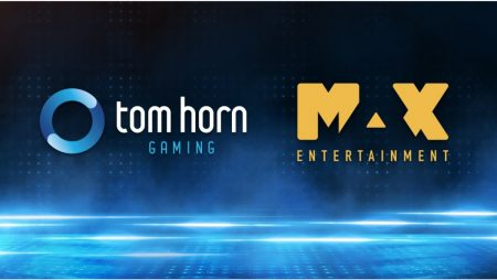 Tom Horn Gaming goes live with Max Entertainment brands