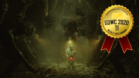 Dark Fracture comes first in the Game Development World Championship Horror Games Weekly Vote!