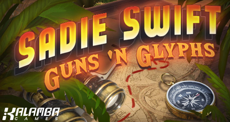 Kalamba Games releases Sadie Swift: Guns 'n Glyphs slot co-developed with CasinoTest24