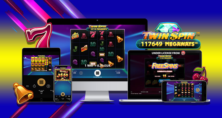 NetEnt upgrades popular Twin Spin online slot with Megaways mechanic