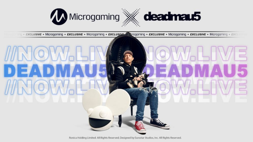 deadmau5 stars in new branded slot from Microgaming