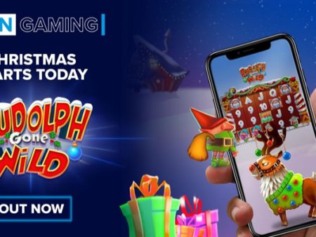 SG Digital announces new Rudolph Gone Wild online slot game