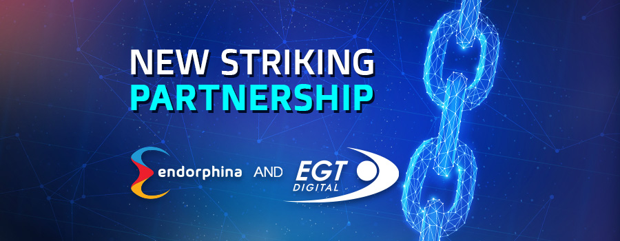 Striking new partnership between  Endorphina and EGT Digital