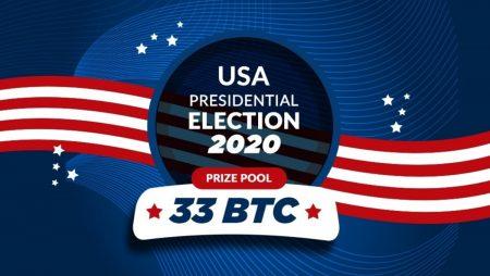 US Election: Win 33 BTC at FreeBitco.in
