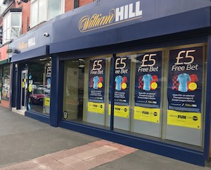 Suitors gather for William Hill betting shops