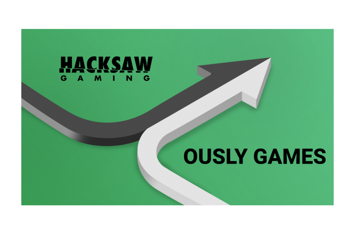 Hacksaw ventures further into the Social Casino Market with Ously Games Partnership