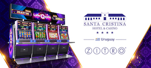 Zitro arrives in Uruguayan casino