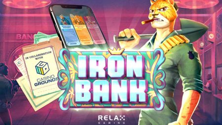 """Relax Gaming and CasinoGrounds collaboration produces """"first community-led slot creation"""": Iron Bank"""