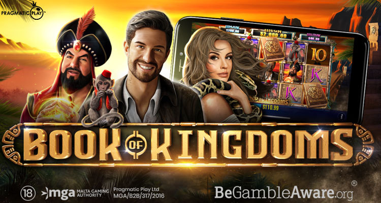 New video slot Book of Kingdoms latest effort via Pragmatic Play and Reel Kingdom partnership