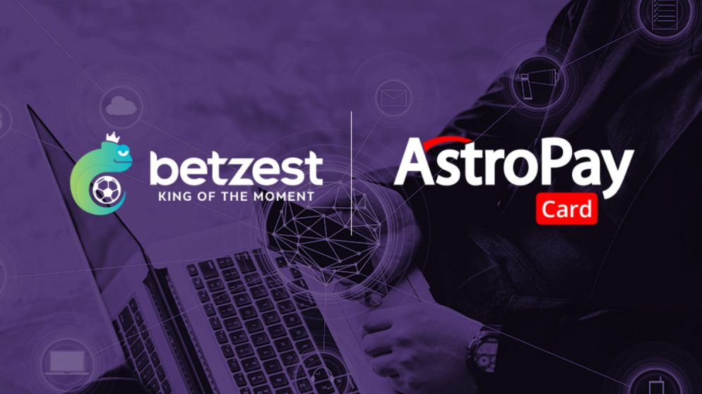Online Casino and Sportsbook BETZEST™ goes live with payment provider AstroPay