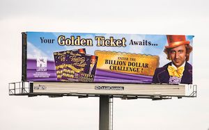 Willy Wonka lottery game revived