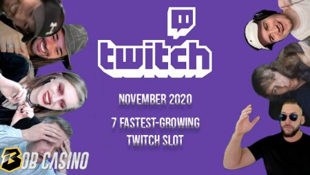 7 Fastest-Growing Twitch Slot Streamers in November 2020