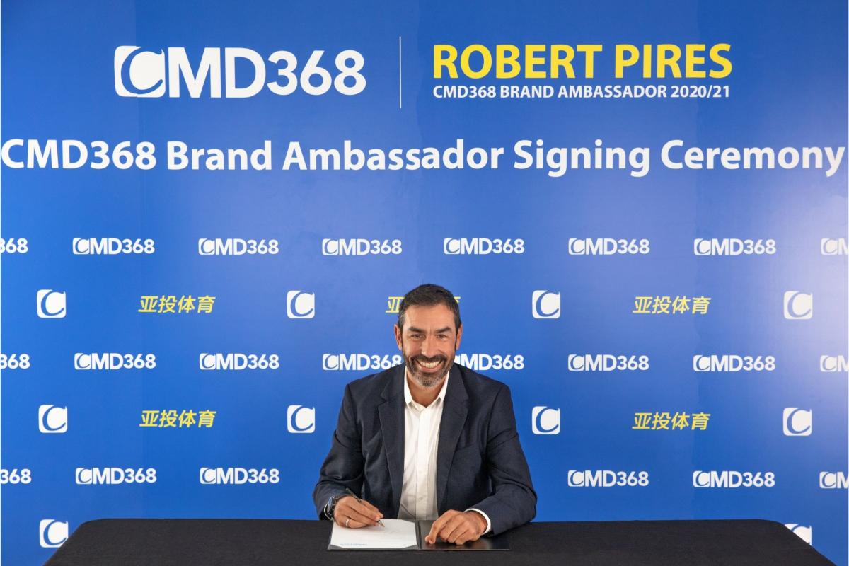 CMD368 APPOINTS ROBERT PIRES AS BRAND AMBASSADOR