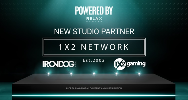 Relax Gaming agrees premium content deal with 1X2 Network