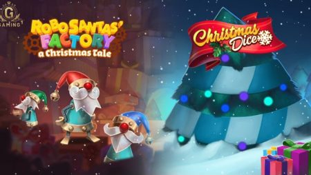 Gaming1 surprizes players an early Christmas via new holiday-inspired slots duo
