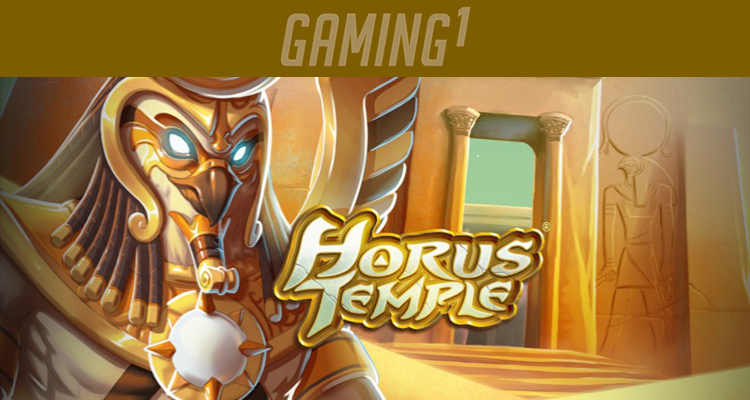 Ancient Egyptian gods battle in Gaming1's latest video slot Horus Temple