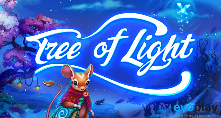 Players journey to a magical forest in Evoplay Entertainment's new video slot Tree of Light