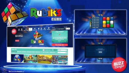Playtech launches new Rubik's® Cube slot
